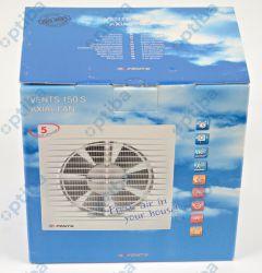 Wentylator domowy fi 150 230V 24W 292m3/h 38dB ścienny standard (STYL S) 150S