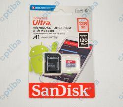Karta Ultra microSDXC 128GB + Adapter