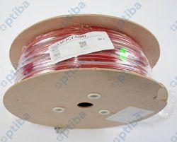 Lina stalowa PCV 4mm 1x19 czerwona