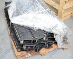 Łańcuch transportowy FV180 P=125mm rolka fi 42mm 41Cr4 hartowana płytki C45