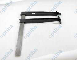 Ścisk śrubowy stolarski żeliwny z pokrętłem TGNT40T40