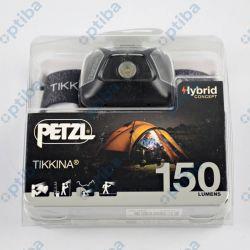 Latarka czołowa TIKKINA E91 150 lumenów czarna PETZL