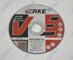 Tarcza V44112 T41-125x1,6x22,2mm