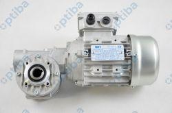 Reduktor MI 40FP 7,5/1 PAM11/90 z silnikiem 0,25KW/1400 230/400 11/90 i tuleją przelotową fi19