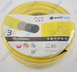 """Wąż ogrodowy PLUS fi 3/4"""" 25m 10-220 żółty"""