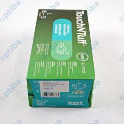 Zestaw 50 par rękawic nitrylowych Touchntuff 92-600 r.8.5-9