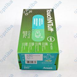 Zestaw 50 par rękawic nitrylowych Touchntuff 92-600 r.9.5-10