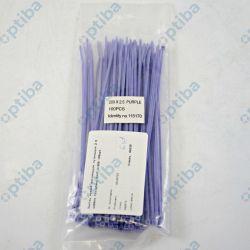 Zestaw opasek zaciskowych nylonowych 2.5x200mm fioletowy FXHT 3/200 100szt.