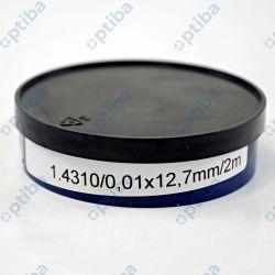 Taśma stalowa precyzyjna gat.1.4310 0,01x12,7mm 2m