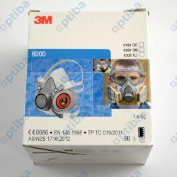 Półmaska ochronna 6200 r.M wielokrotnego użytku XA007702658