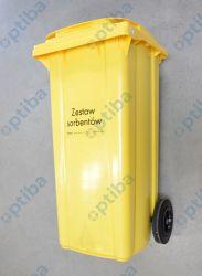 Zestaw sorbentów uniwersalnych mobilny Wheely 120 112L