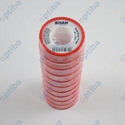 Taśma P.T.F.E. EXTRA 12m 0.10x12mm woda czerwona B870703