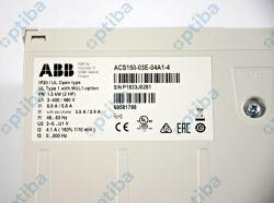 Przemiennik częstotliwości 1.5kW 4.1A 3x380-480VAC IP20 z filtrem EMC ACS150-03E-04A1-4 ABB