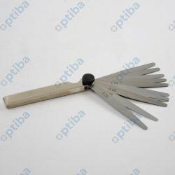 Szczelinomierz 9M08.3.01 0,05-1,00mm 13 listków 100mm