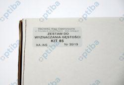 Zestaw do wyznaczania gęstości ciał stałych KIT 85 WX-001-0001