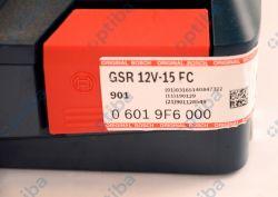 Wiertarko-wkrętarka 06019F6000 GSR 12V-15 FC