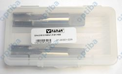 Zestaw 2 gwintowników A1-220001-0205 M20x1,5 DIN-2181/2 ISO2(6H) HSS