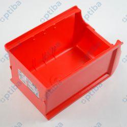 Pojemnik magazynowy Profi+ 125x150x235mm czerwony 456209