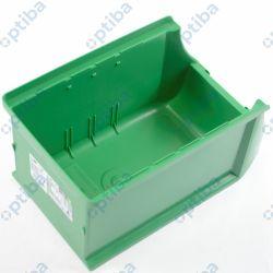 Pojemnik magazynowy Profi+ 125x150x235mm zielony 456211