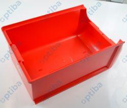 Pojemnik magazynowy Profi+ 200x310x500mm czerwony 456217