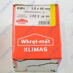 Wkręt hartowany KMH 3,5/45mm do drewna