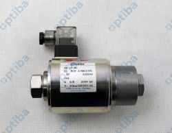Zawór współosiowy wysokiego ciśnienia KB 15 NC 529256 11 8C8 3/8AC230L