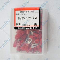 Końcówka oczkowa TMEV1.25-4M fi 4,3mm