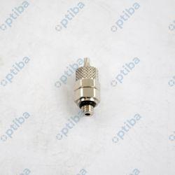 Przyłączka prosta MW-2351001 C1/Z wąż 4/2 GZ M5 oring NBR