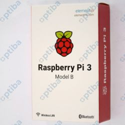 Minikompuer Raspberry Pi 3B WiFi 1GB 1,2GHz