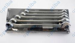 Zestaw 5 kluczy płasko-oczkowych 2424/T16 22-32mm we twardym wkładzie profilowanym 024240016