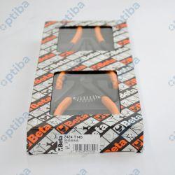 Zestaw 4 szczypiec 2424/T145 we wkładce z tworzywa 024240145
