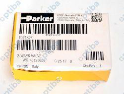 Zawór elektromagnetyczny E121K07 1/4' PARKER