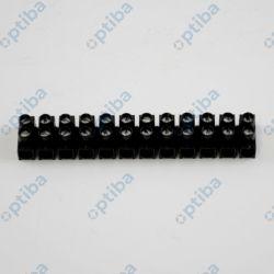 Listwa zaciskowa LTA12-2,5 gwintowa 12-torowa 2,5mm2 22210217 czarna