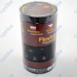 Klawiatura silikonowa, gumowa 06179_CZ USB czarna