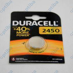 Zestaw baterii litowych CR2450-DR 1 24x5mm