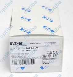 Główka lampki sygnalizacyjnej M22-L-Y 22mm żółta 216774