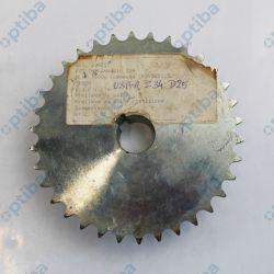 Koło łańcuchowe 08B-1 Z34 D25