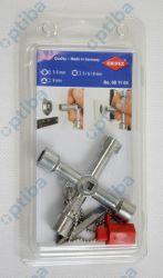 Klucz do szaf sterowniczych 001103 wielofunkcyjny