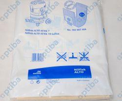Zestaw 5 worków 302004004 do odkurzacza ATTIX 40/50